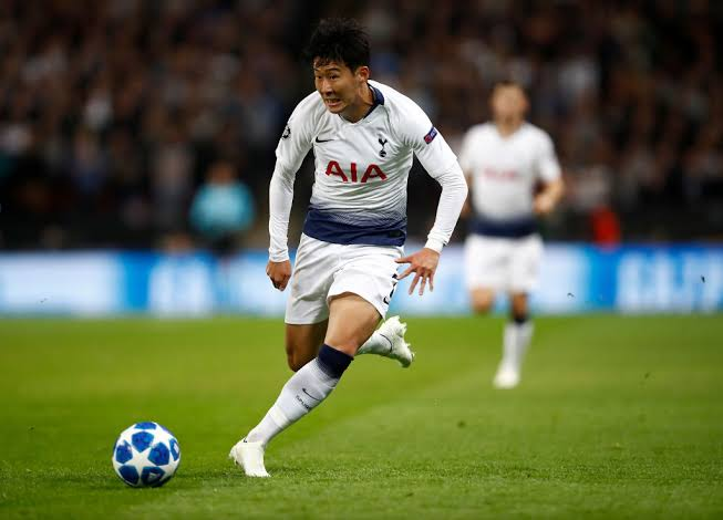 Son Heung-min best left wingers in the world