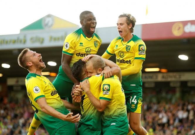 Norwich City newly EPL promoted teams 2021/2022