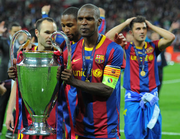 Eric Abidal footballers who overcame adversity