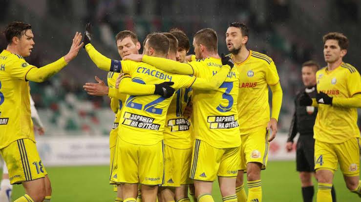 Top football clubs in Belarus BATE Borisov