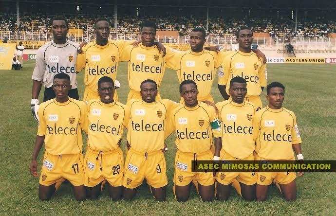 ASEC Mimosas longest unbeaten League run in football