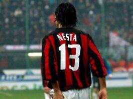 Alessandro Nesta number 13 shirt