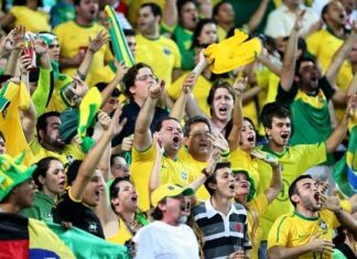 Brazil Countries With The Most Football Fans