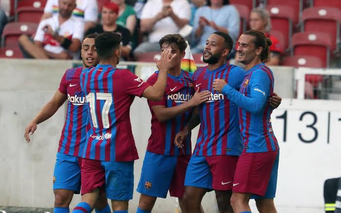 FC Barcelona players 2021/22