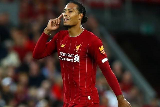 Virgil Van Dijk returned from injury for Liverpool