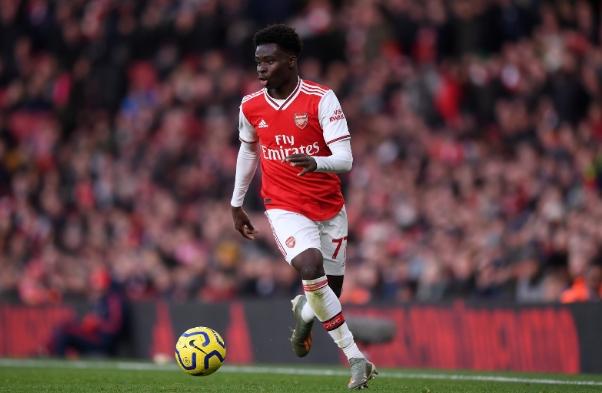 Bukayo Saka the best young football players
