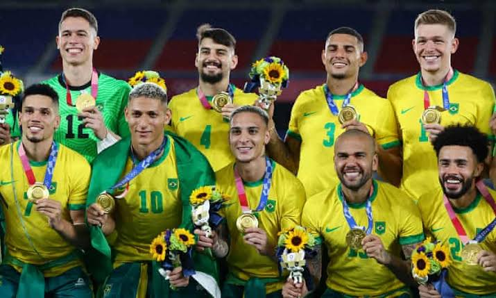 Brazil wins 2020 Tokyo Olympics Men's Football Tournament