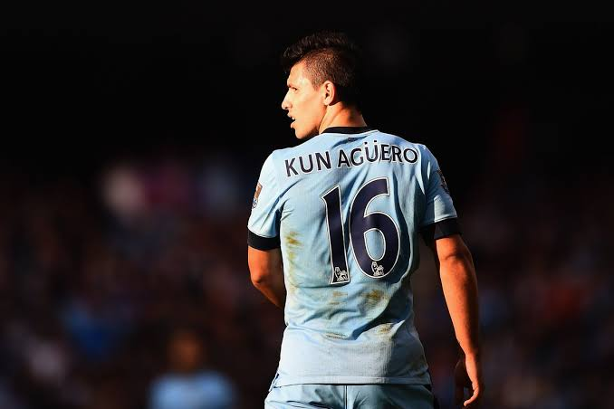 Kun Aguero Famous Footballers Who Wore The Number 16 Jersey