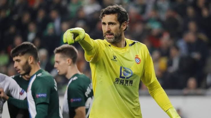 Diego Lopez oldest players still playing football in 2021