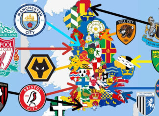 England Countries With The Most Football Clubs